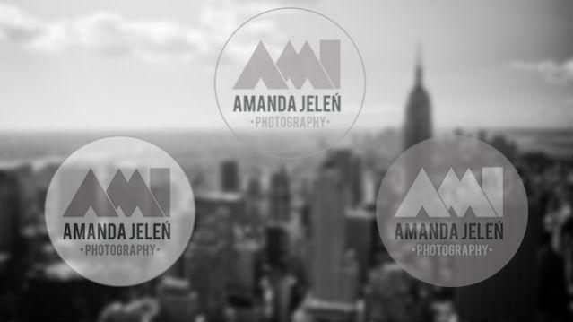 Identyfikacja logotypu AMI Amanda Jeleń Photography