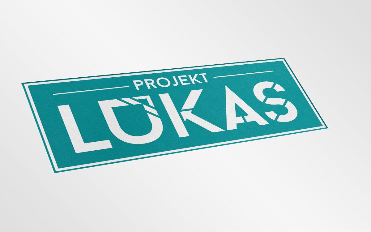 Alternatywna wersja logotypu projektlukas.pl