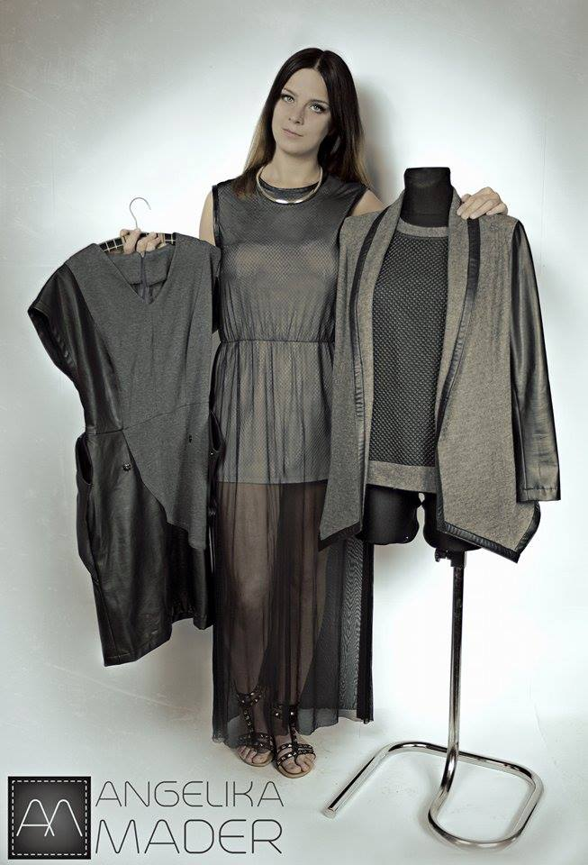 Prace projektantki mody Angeliki Mader
