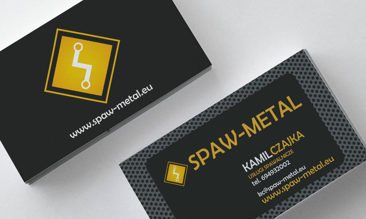 Wizytówka Kamil Czajka Spaw-Metal
